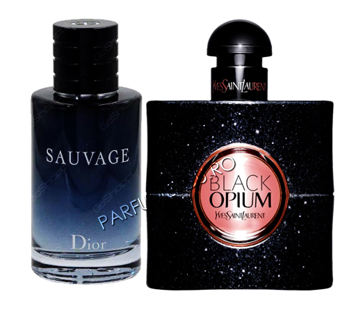 set cadou dior sauvage si yves saint laurent black opium tester