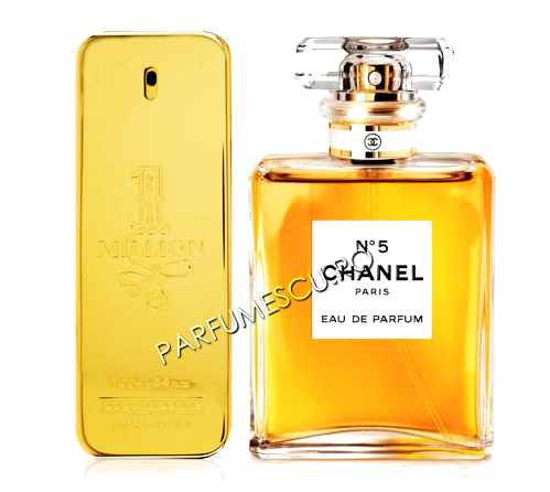 set cadou paco rabanne 1 million si coco chanel no 5 tester
