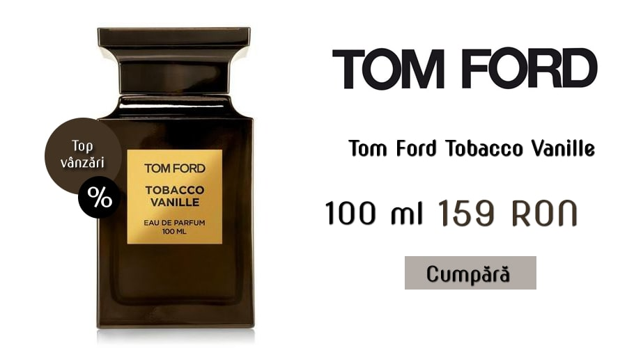 banner tom ford tobacco vanille tester